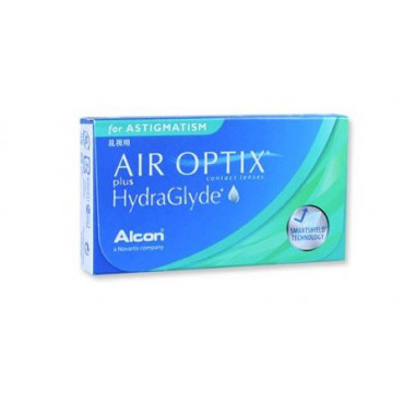 Air Optix plus HydraGlyde for Astigmatism - 6 Lenti