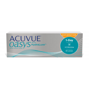 Acuvue Oasys 1-Day with HydraLuxe technology for Astigmatism - 30 Lenti