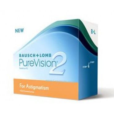 PureVision 2 HD for Astigmatism - 6 Lenti