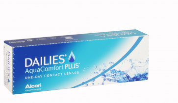 Dailies Aqua Comfort Plus - 30 Lenses