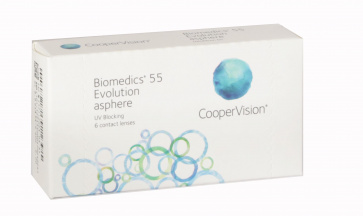 Biomedics 55 Evolution - 3 Lenses
