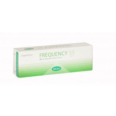 Frequency 1-Day 55% - 30 Lenses