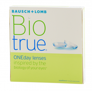 BioTrue Oneday Lens - 90 Lenses + 10 Free!