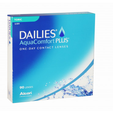 Dailies Aqua Comfort Plus Toric - 90 Lenses