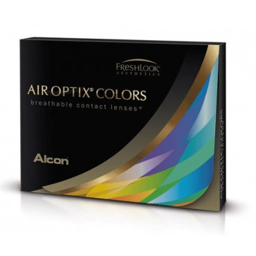 Air Optix Colors Plano Lenses - 2 Lenses