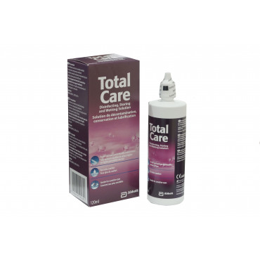 Total Care, Disinfetting, Storing and Wetting (120ml)